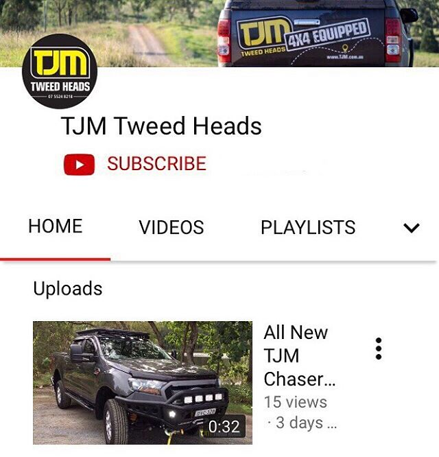 ▶️ We're on YouTube!  Click the link in our bio and hit subscribe!  Follow our builds and off-road adventures!  #tjmequipped #tjm4x4 #offroad #4x4life #4wdlife #getequipped #4x4australia #4x4offroad #4wdaustralia #4wdadventure #4wdingaustralia #tjm #tjm4x4 #tjmequipped #tweedheads #tweedheadssouth #4x4offroad #4x4life #4wdlife #offroaders #offroadlife
