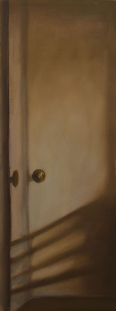 Door , 2017  Oil on Canvas, 18 x 48 inches