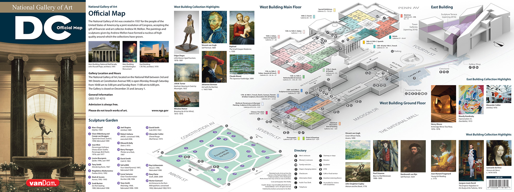 National Gallery of Art Illustrated Model