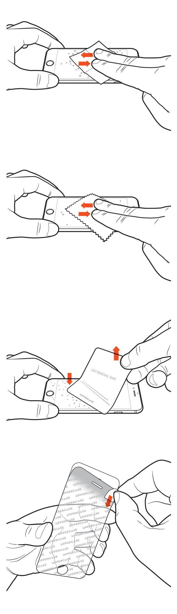 Screen Protector Installation Instructions