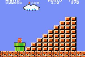 Super Mario screen image