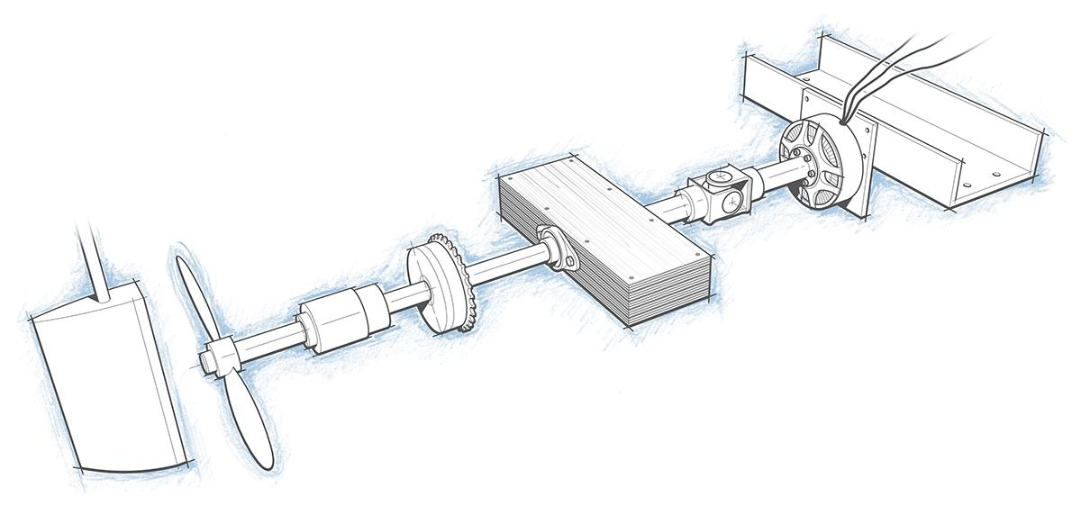 DIY Sailboat Motor