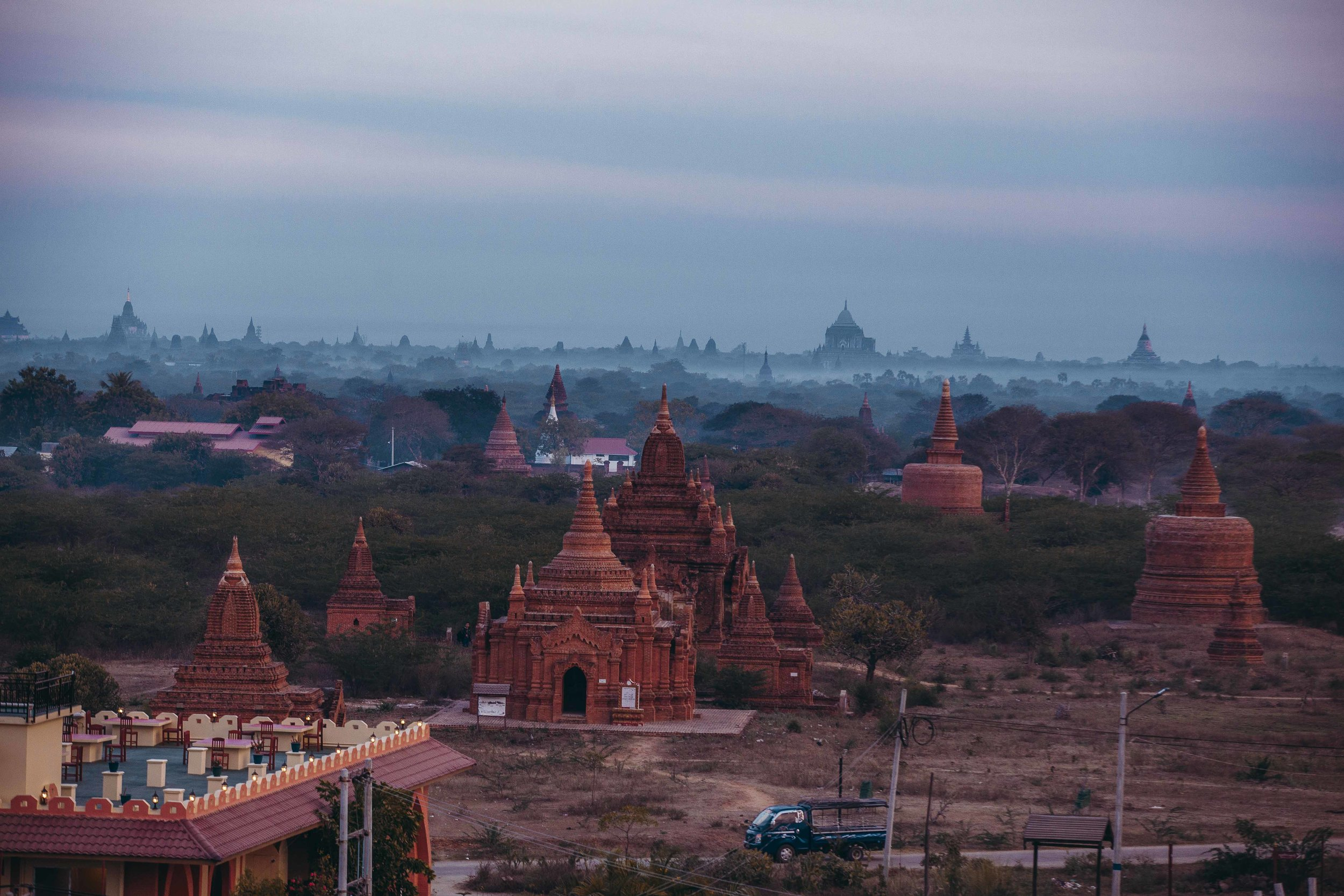 Rumor has it that this year Bagan will be added to the collection of UNESCO's world heritage cultural site.