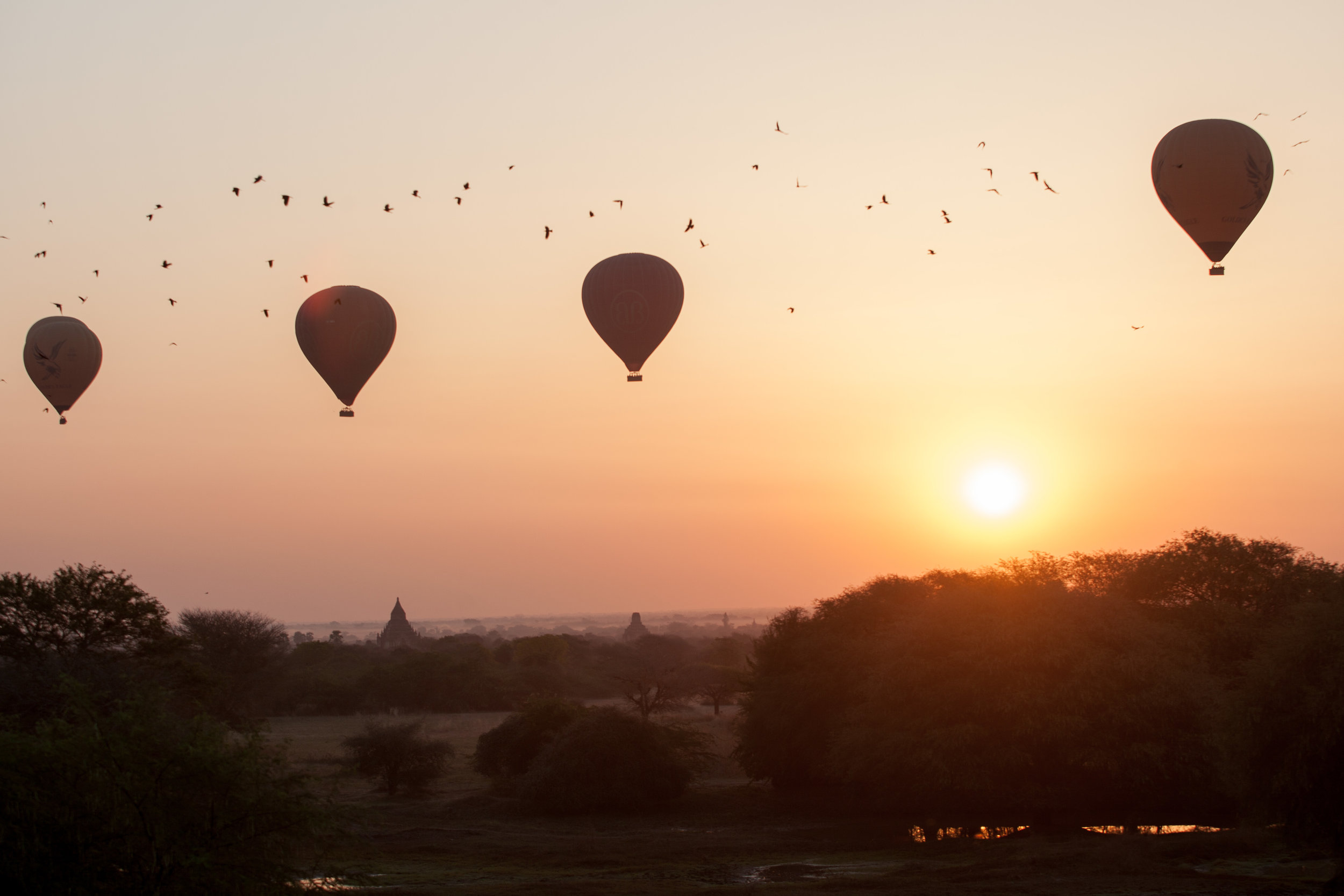 BAGAN, MYANMAR - THE BEST WAY OUT IS ALWAYS THROUGH >>