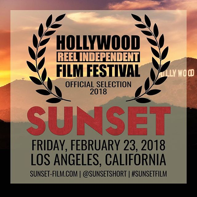 Big News! #SunsetFilm is making its way back to California for the Hollywood Reel International Film Festival #HRIFF2018! #BandOfOthers #gaysinfilm #womeinfilm #supportindiefilm #lgbtfilm #SunsetShort