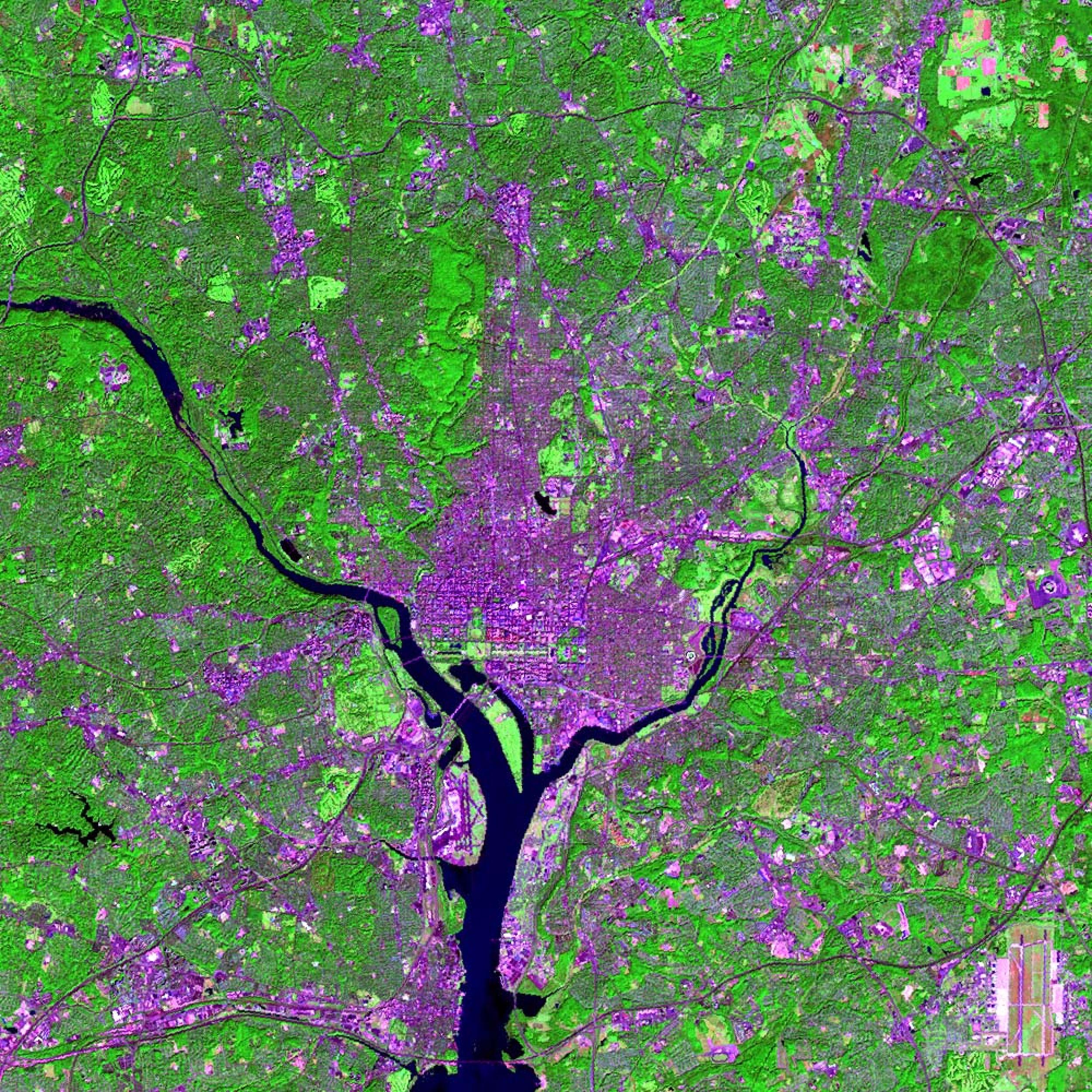 washington_dc from space (nasa)