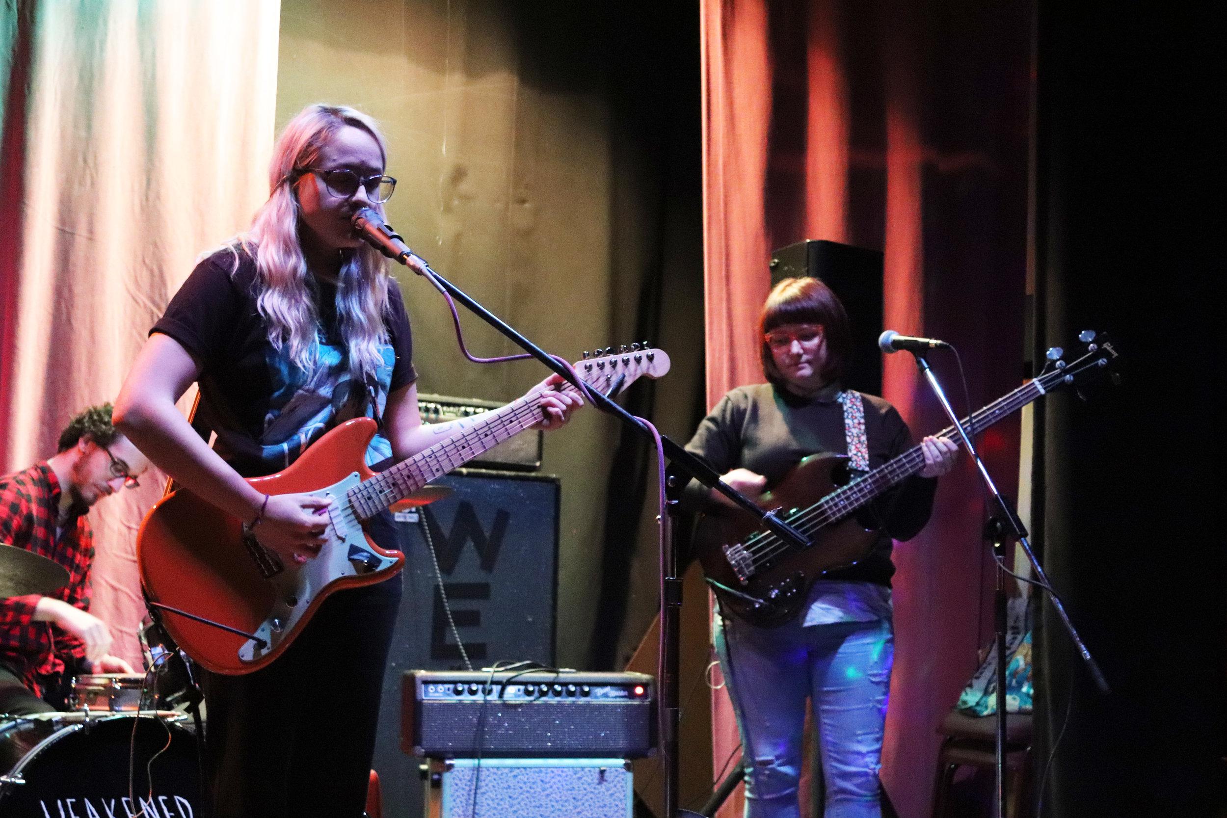 Well Wisher performing at the Ice House. (Shamus McGroggan/TAPE SWAP RADIO)