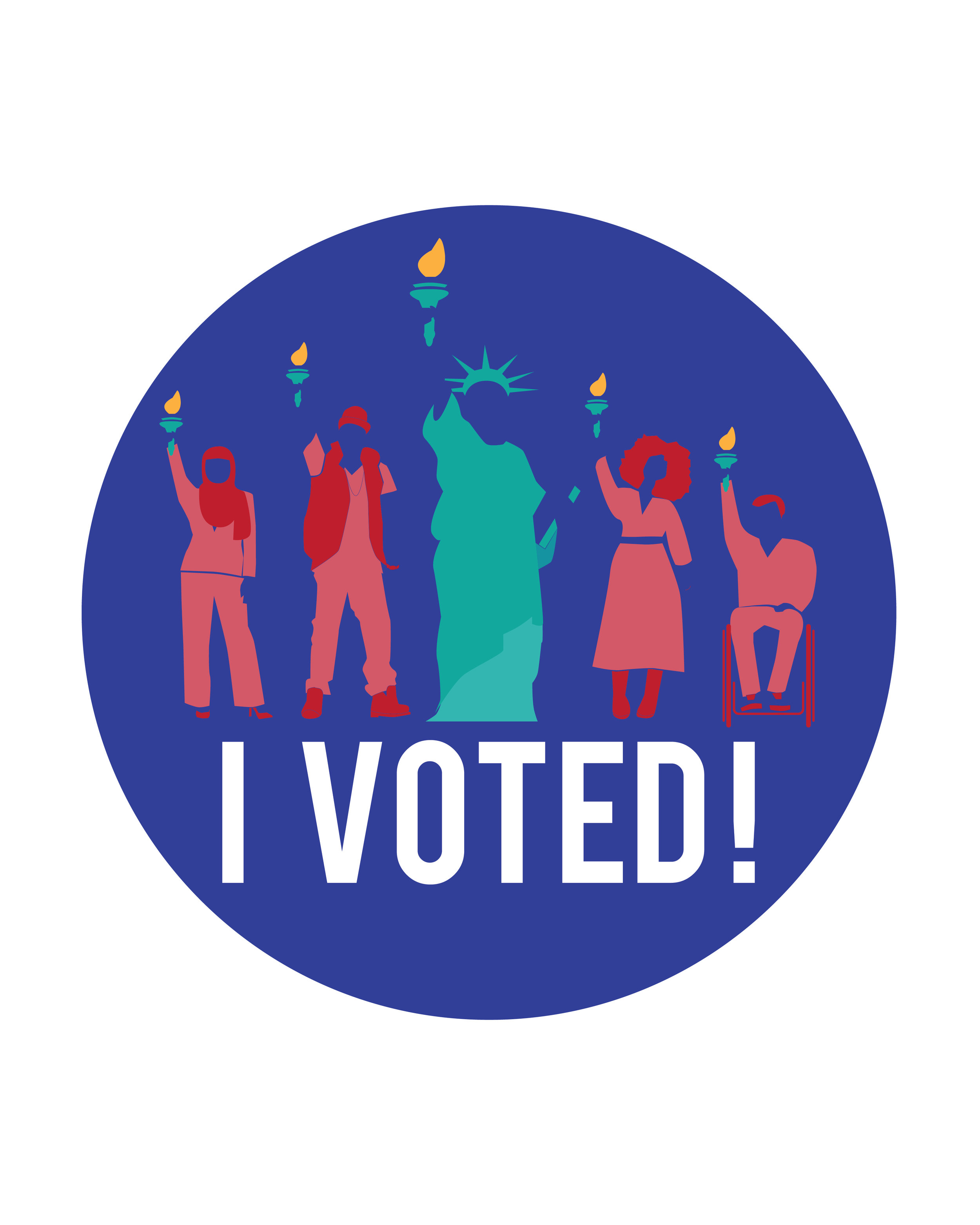 NYC Votes Sticker
