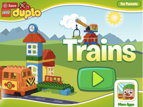 Lego Duplo Trains -sovellus on meidän Otson lemppari!