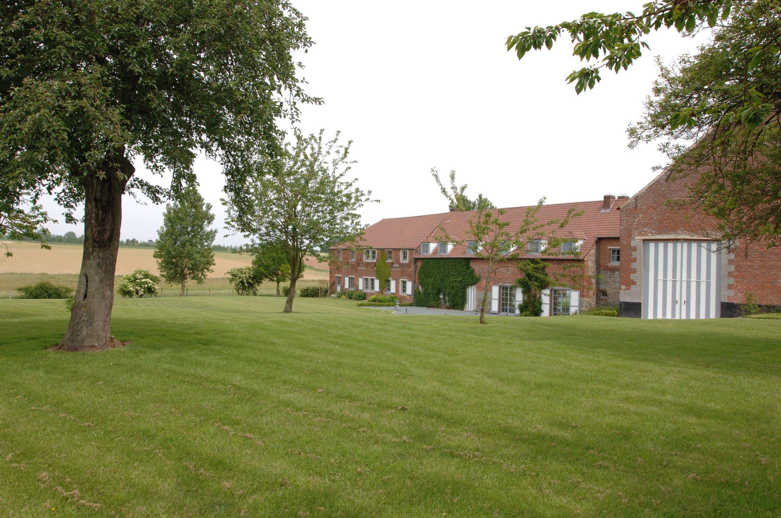 La Cense d'Herbecq  - Aménagement d'une ferme en habitation et lieu d'événements.