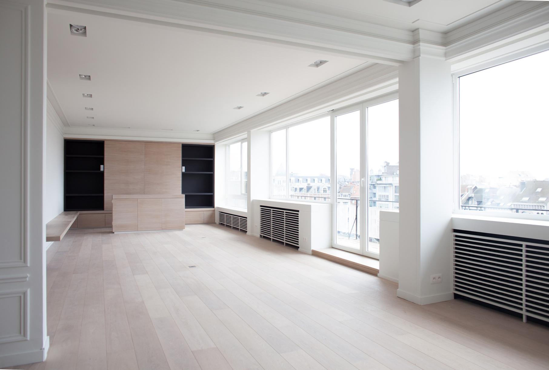Tervuren  -Transformation d'un Penthouse