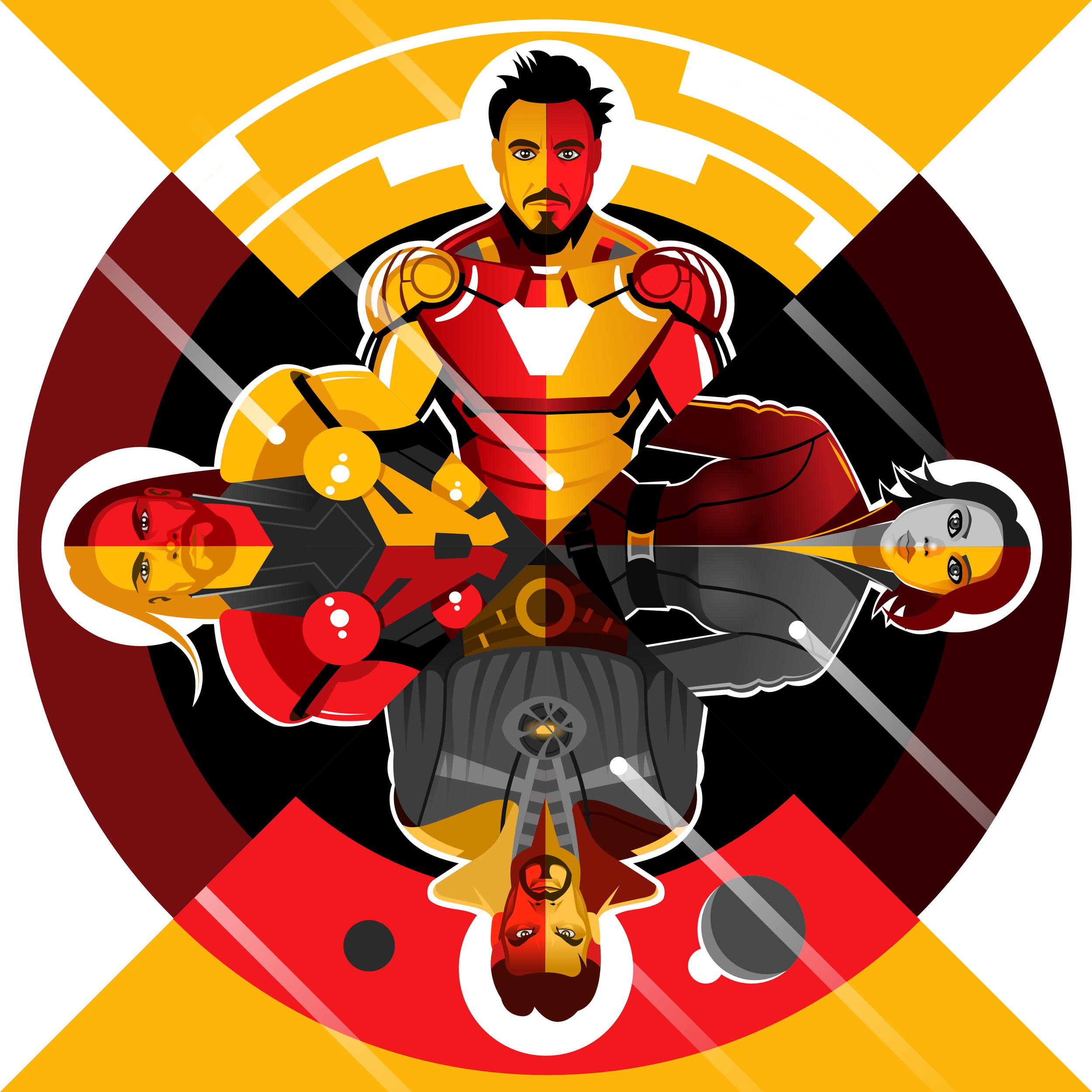 Avengers Mandala