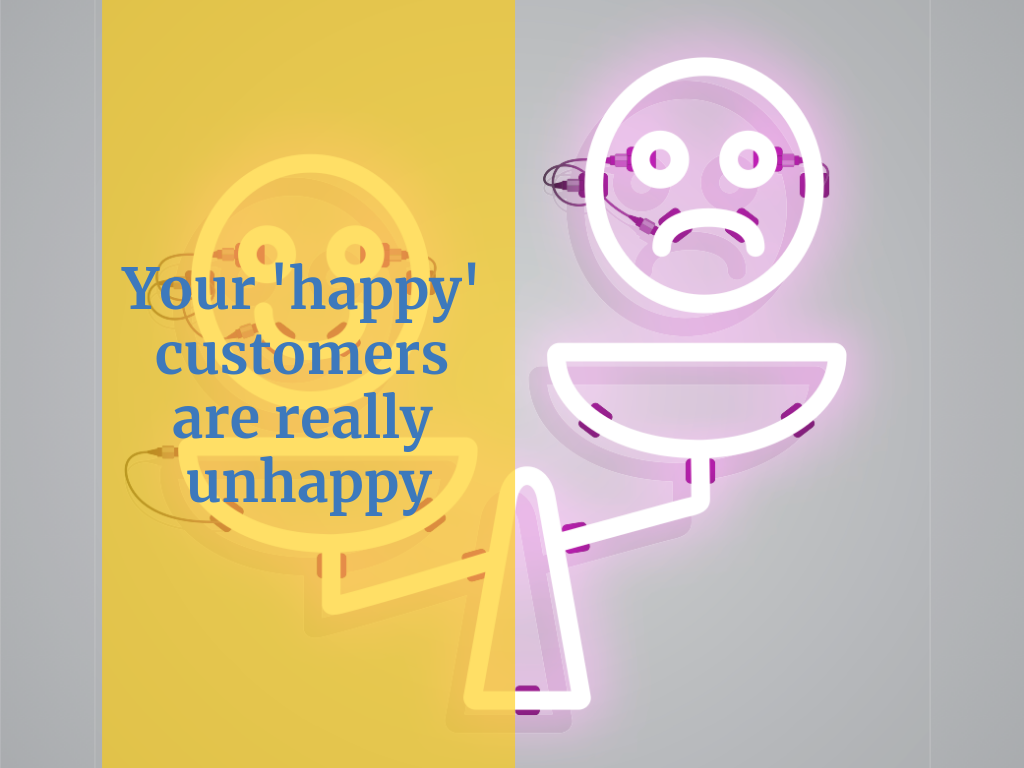 Customer satisfaction can be a misleading measure for service desks