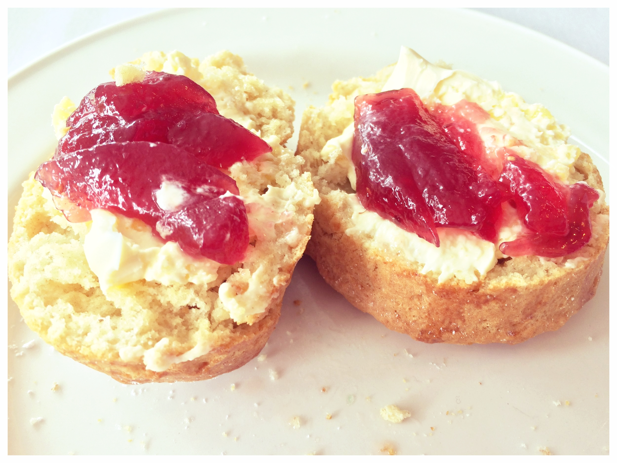 scones and jam cromwell hotel stevenage hertfordshire
