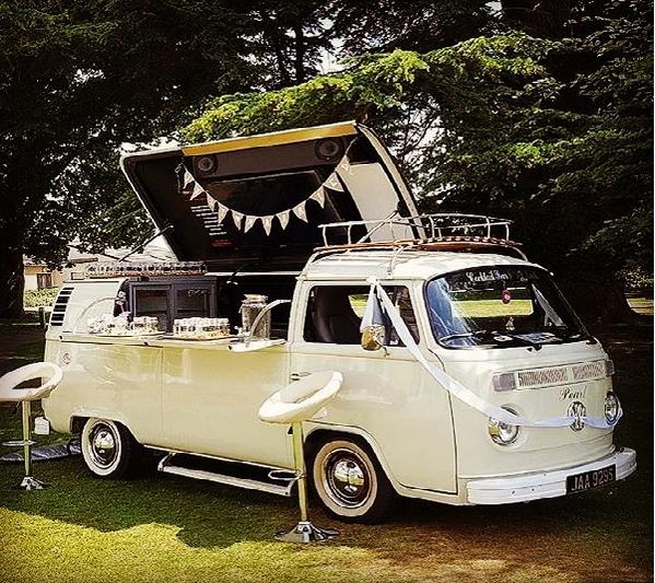 VW mobile bar Hertfordshire
