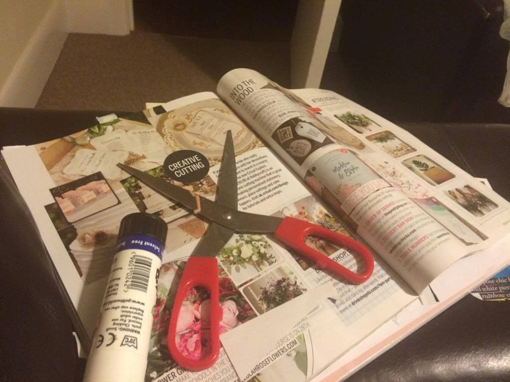 My wedding planning scrapbook!