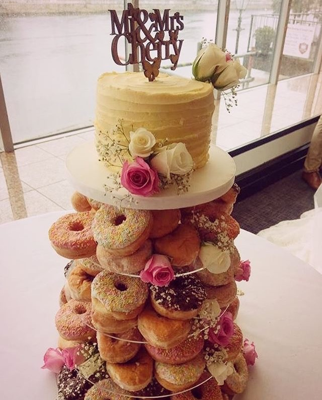 Doughnut Wedding Cake Bedfordshire