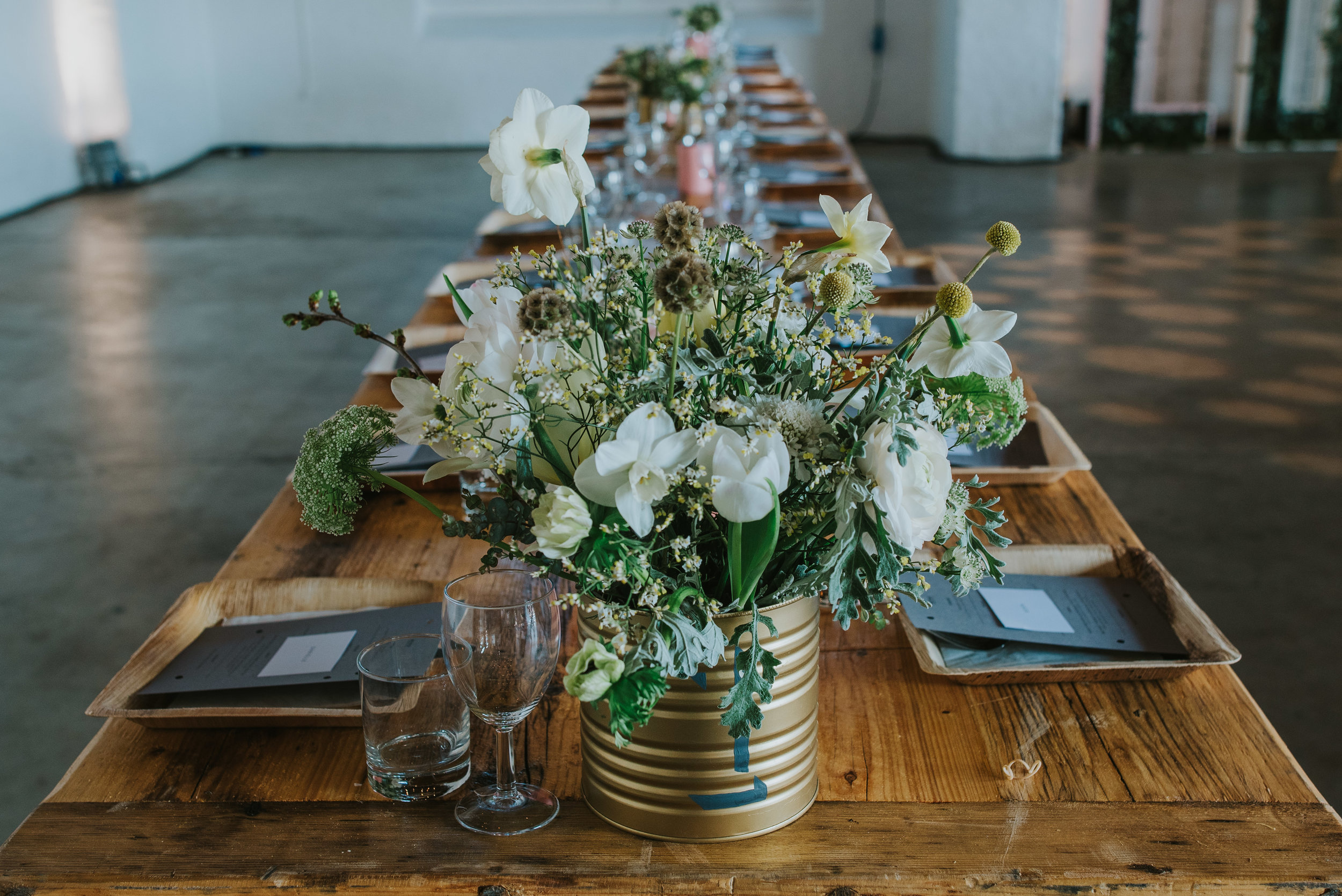 Photo Credit:  Remain in Light Photography  Florals:  Cottage Garden Weddings