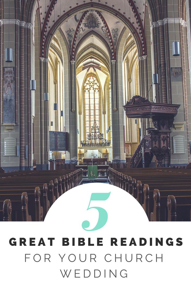 5 Great Bible Readings Wedding Buckinghamshire