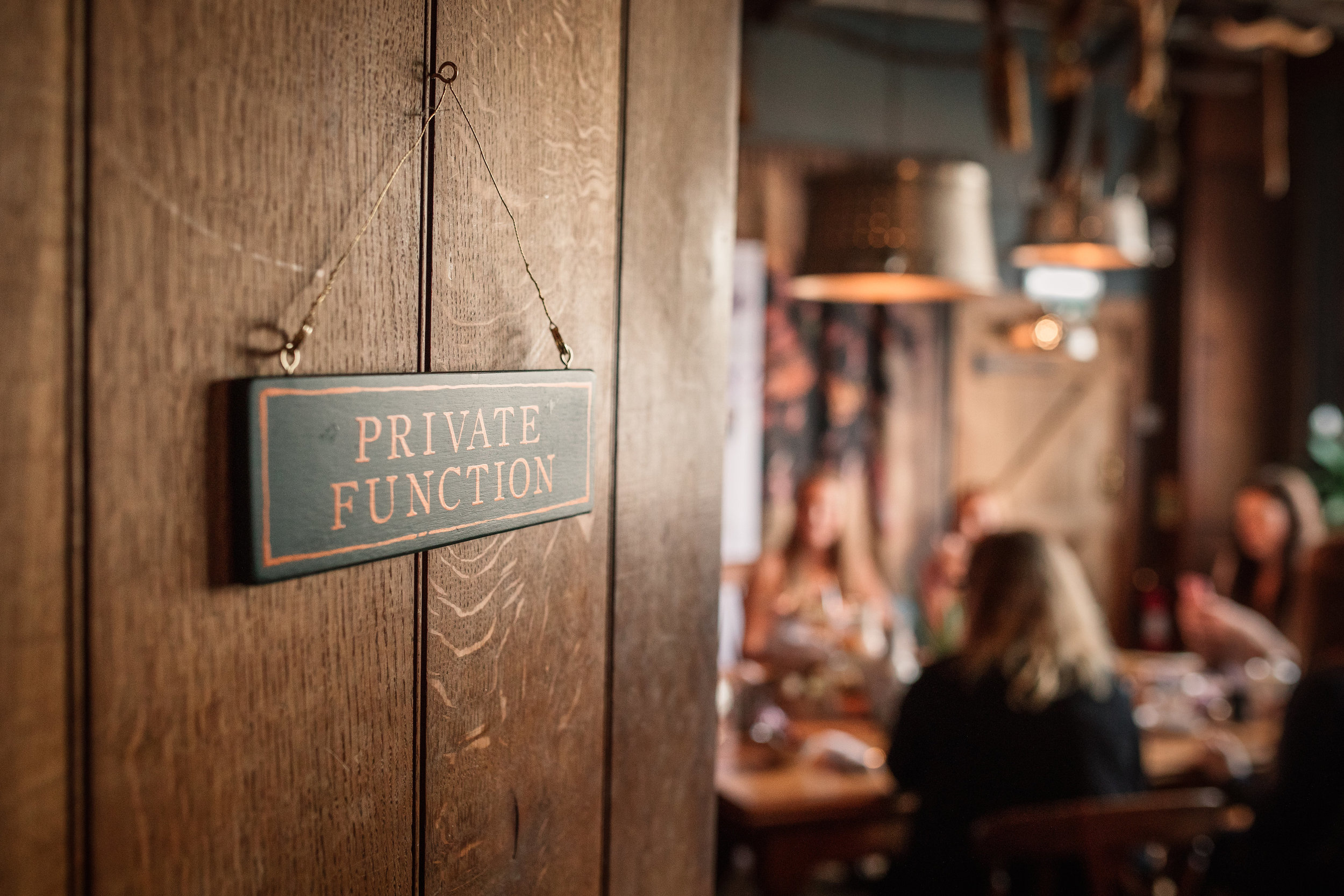 Private dining room, the farmhouse at redcoats