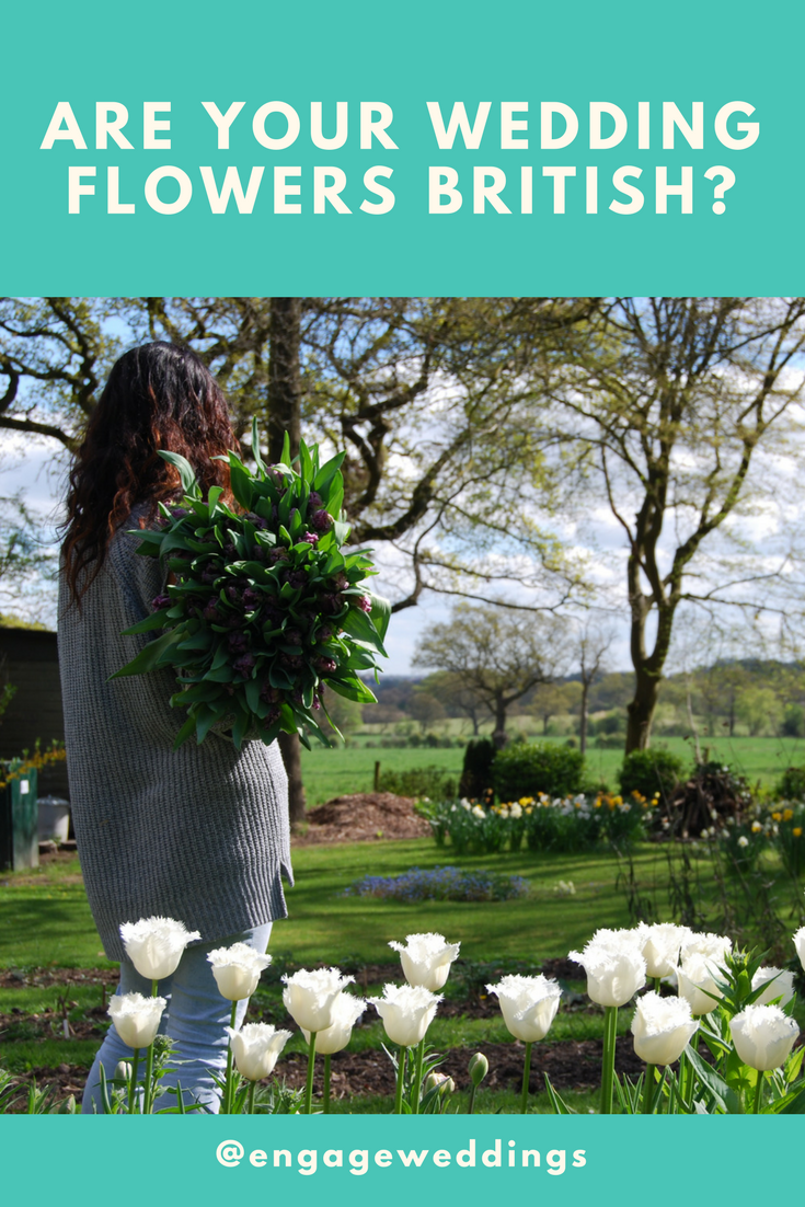 Are your wedding flowers british