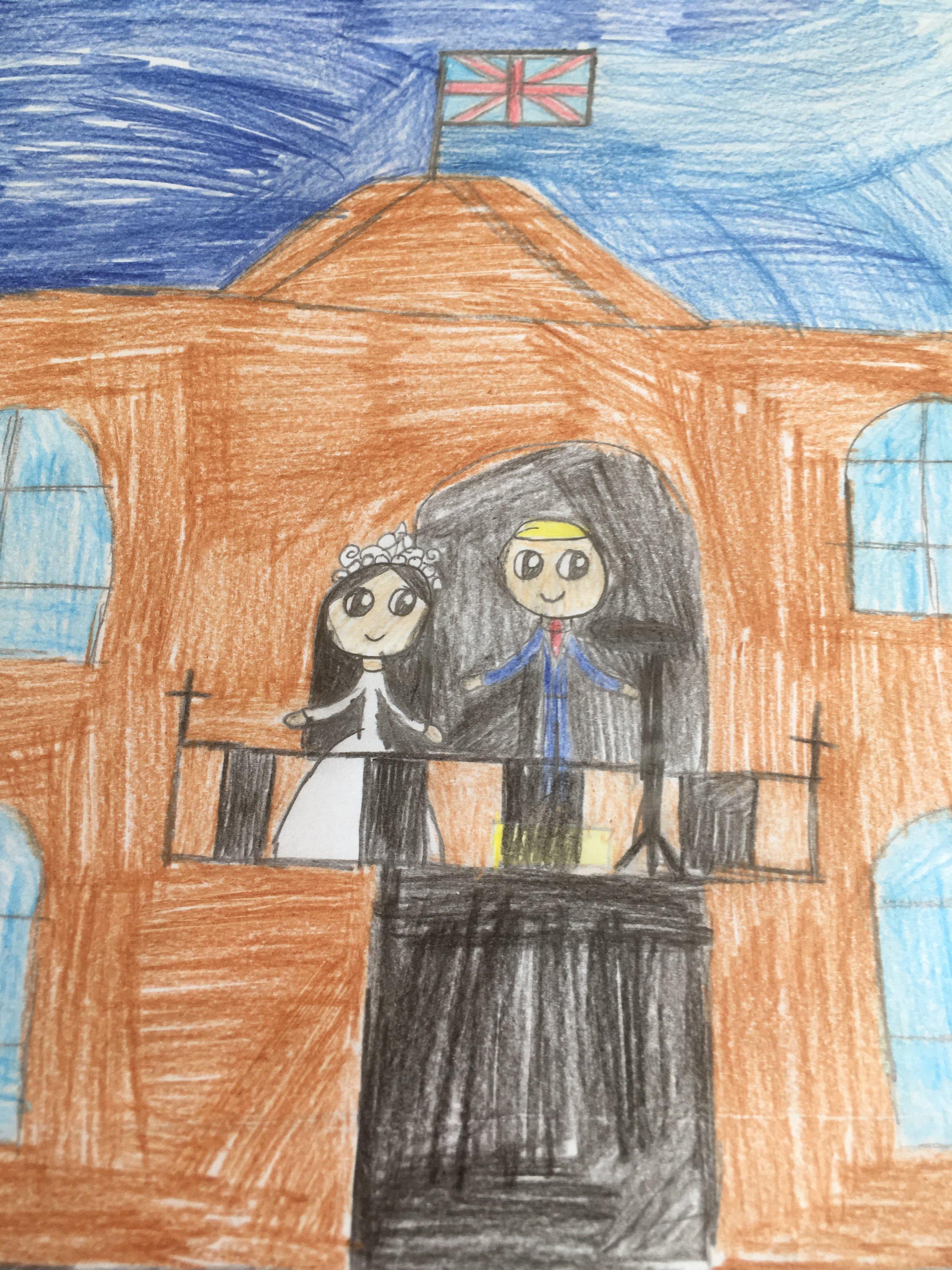 Harry and Meghan balcony
