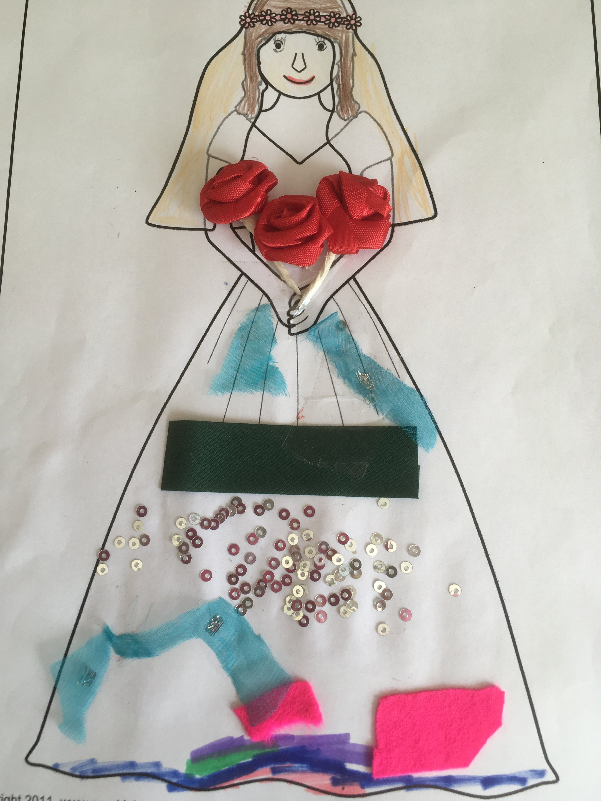 Meghans wedding dress
