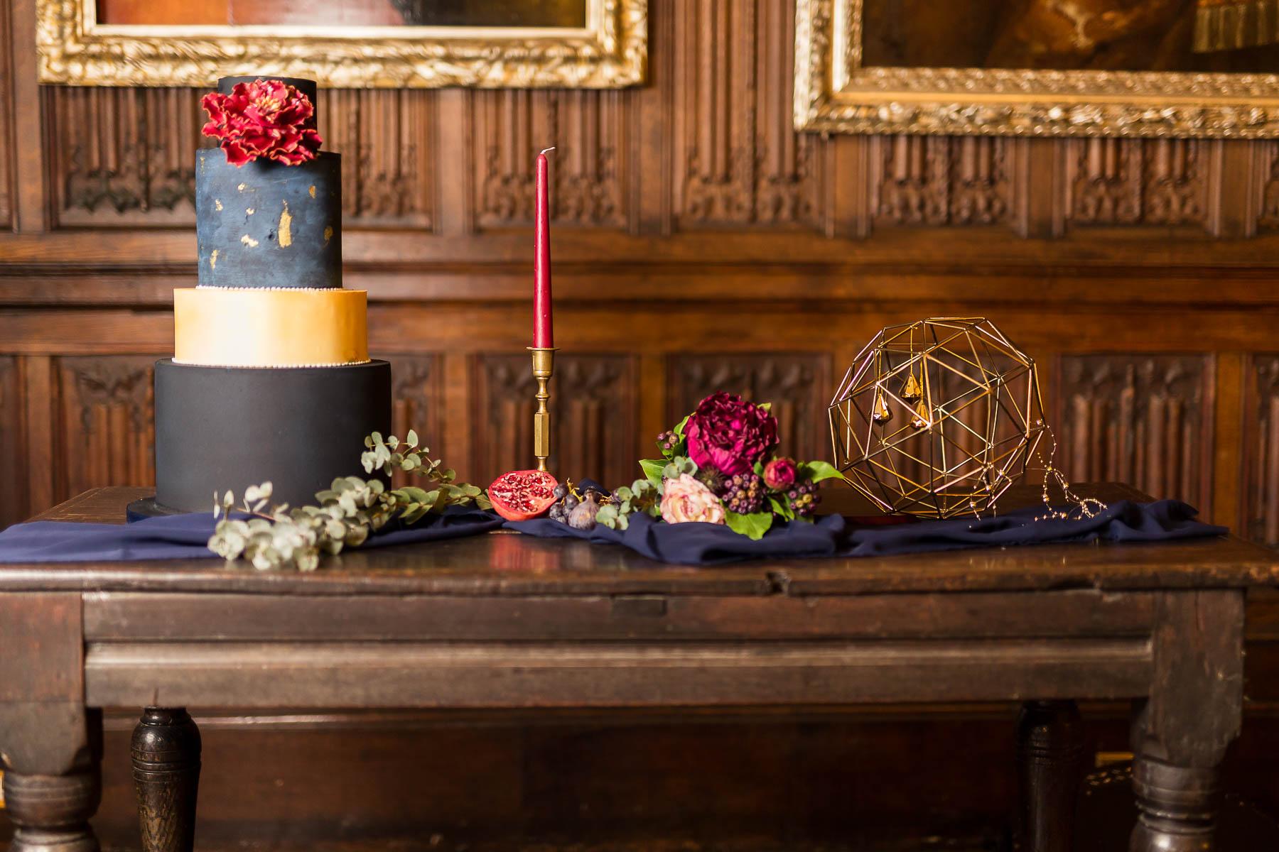 red berry and navy wedding decor ideas hertfordshire
