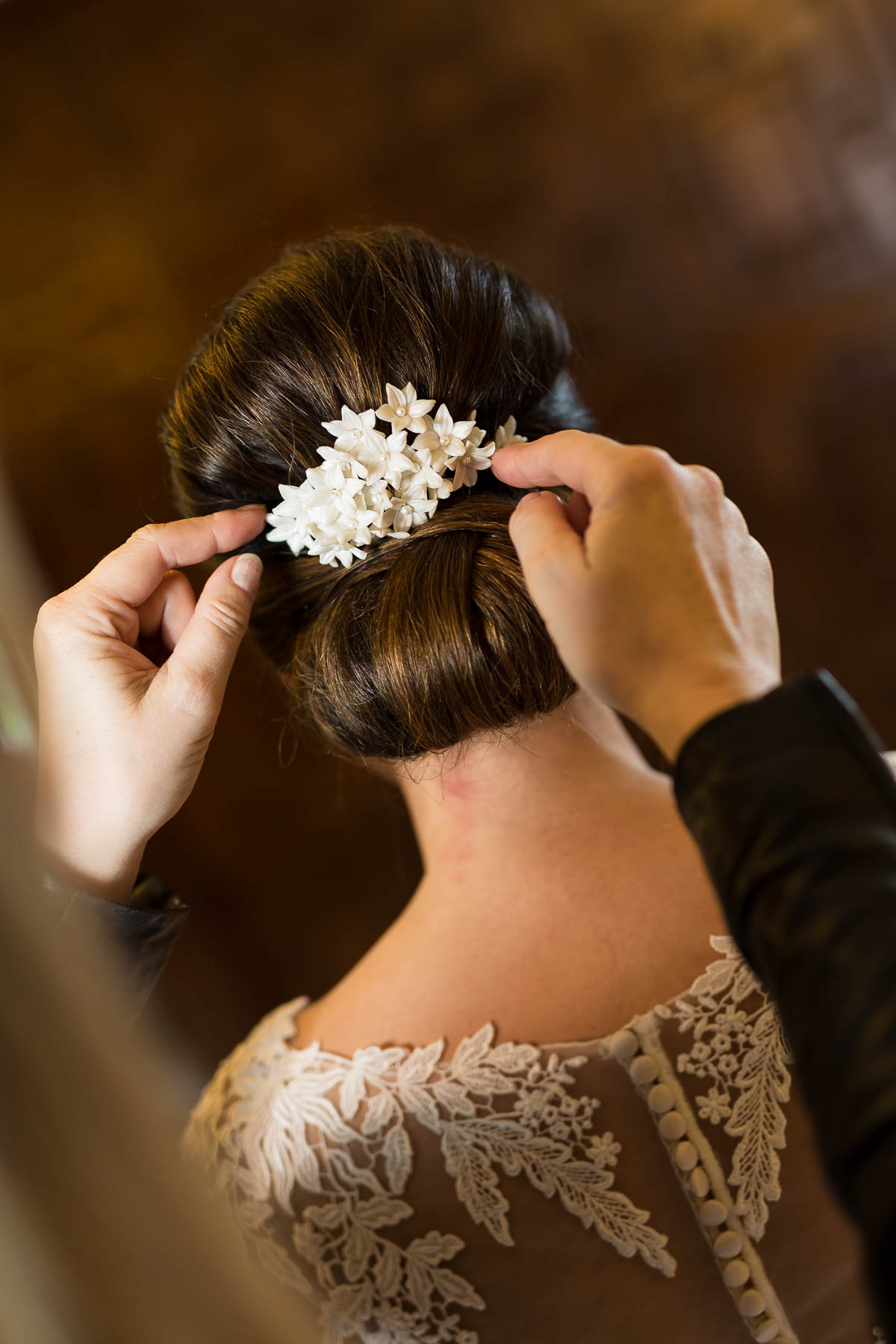 Red berry and navy wedding ideas bespoke bridal hair accessories from bedfordshire based Rachel Louise bridal