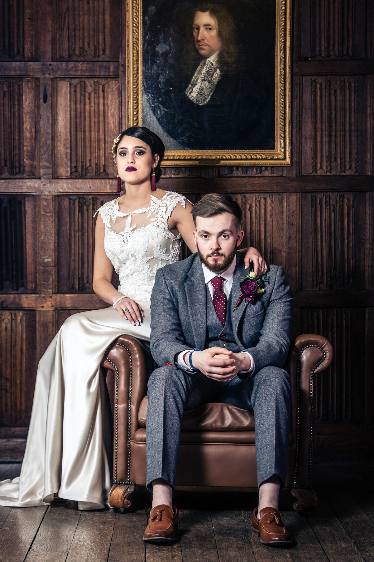 red berry and navy wedding inspiration hertfordshire wedding photographer lee rushby