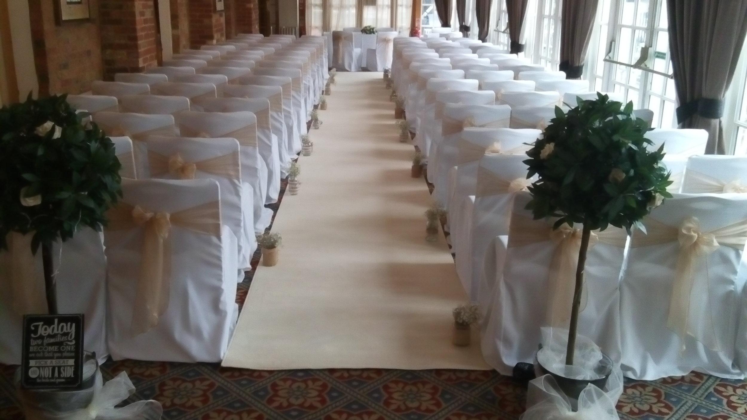 Wedding Decor Hertfordshire