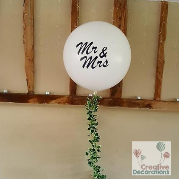 Creative decorations wedding balloons Bedfordshire