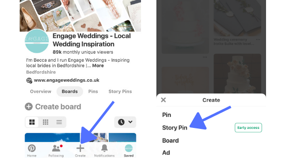 How to create a story pin on mobile