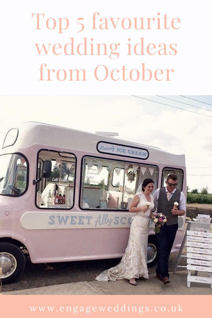 Allysca top 5 favourite wedding ideas from october — engage weddings