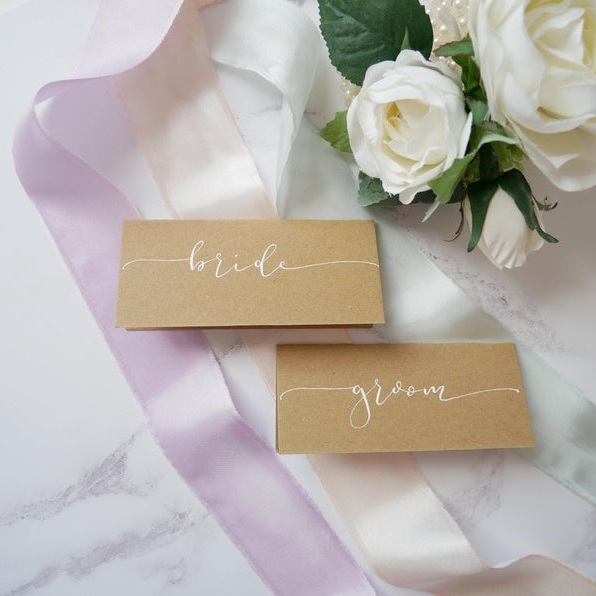 lettered by annie modern calligraphy | bedfordshire wedding stationery