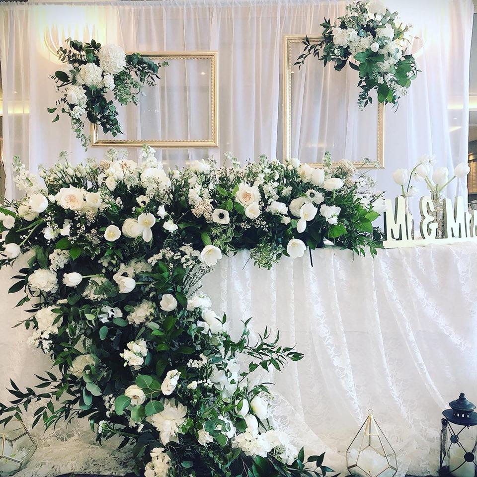Sara's events flowers hertfordshire wedding florist
