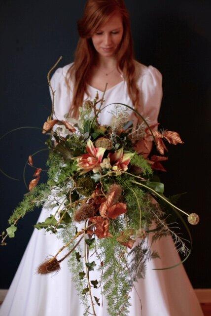 Seasonal flowers_Wild Flowers_Bridal Bouquet_Wild Rosamund