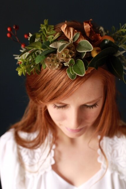 Flower Crown_Wedding Inspiration_Wild Flowers_Wild Rosamund