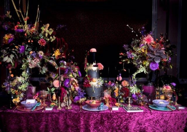 Seasonal wedding flowers_Table Styling Inspiration_Wild Rosamund