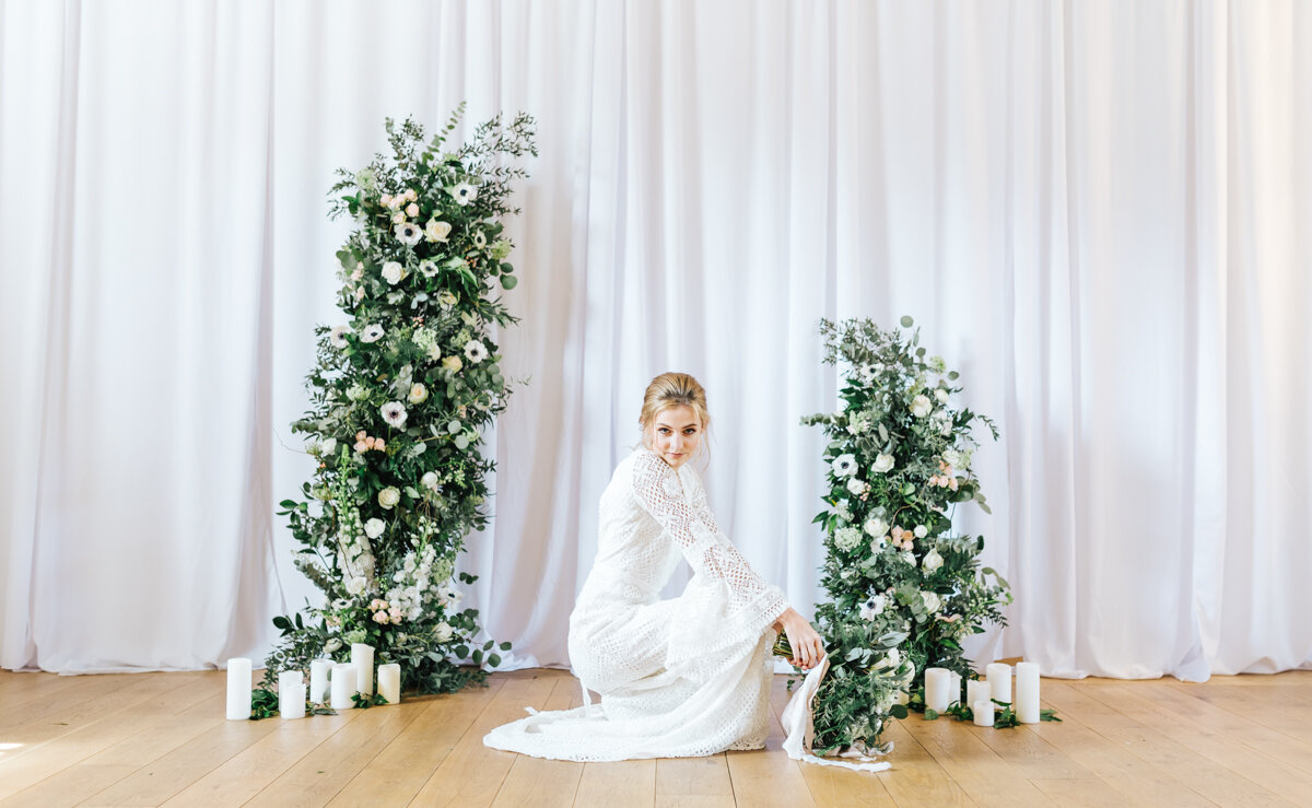 Wedding Inspiration_Wedding Flowers_Bride_Bridal Dress_Nikki's Moments Photography & Film