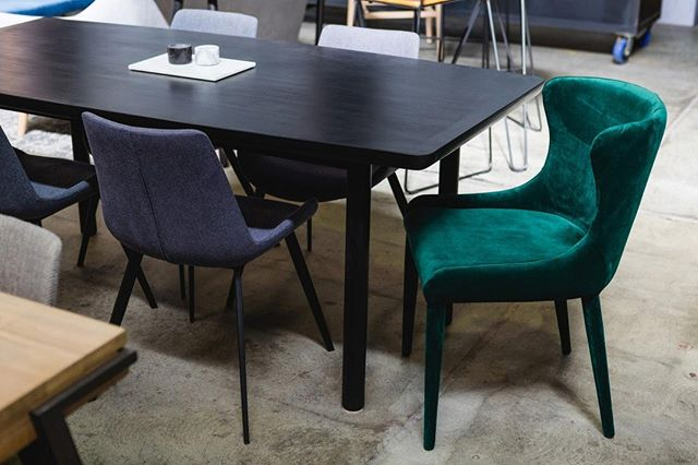 A deep, forest green will bring a touch of luxury to any home! Ever wondered what happens when you combine lush comfort and everyday functionality? You get the stunning @globewestfurtniture Claudia Dining Chair of course! • Available in dark green or navy velvet upholstery.⁠ .⁠ .⁠ .⁠ #embassyhome #embassyhomeoutfitters #interiordesign #interiordesigninspo #perthinteriors #perthfurniture #customfurniture