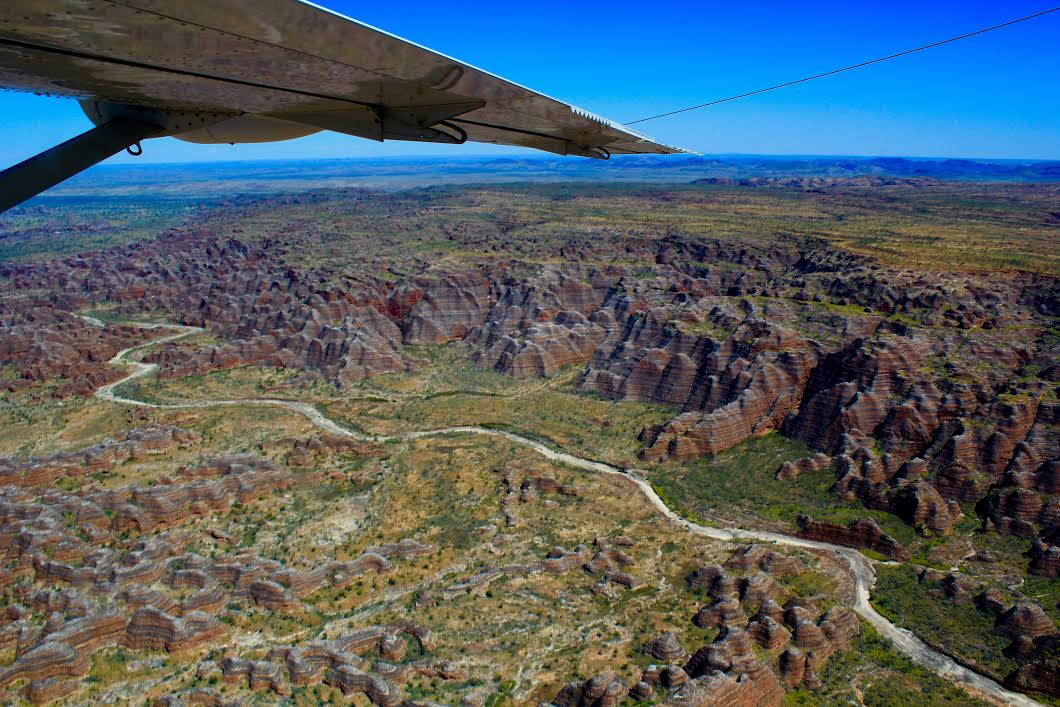 The Bungle Bungles from the air
