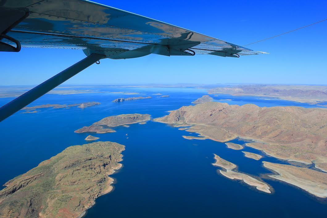 The vast expanse of Lake Argyle
