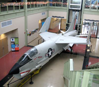XF8U-2 Crusader Jet