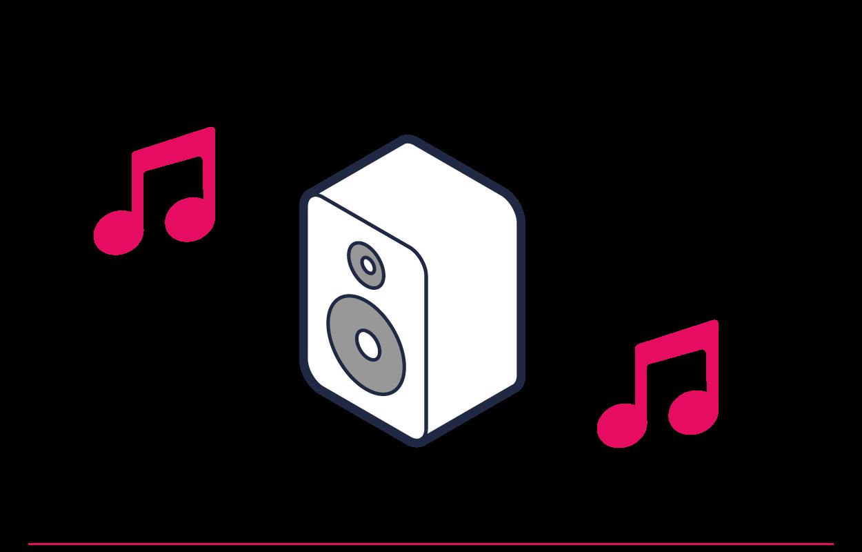 Urządzenia bezprzewodowe można wówczas połączyć z Internetem i ze sobą nawzajem — oznacza to, że możesz korzystać z drukarki bezprzewodowej, używać urządzenia Chromecast i wysyłać muzykę do głośników Sonos.