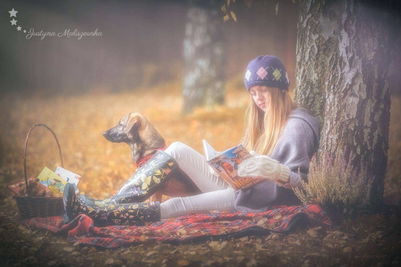 Kornelia i jej wierny pies Barley :)