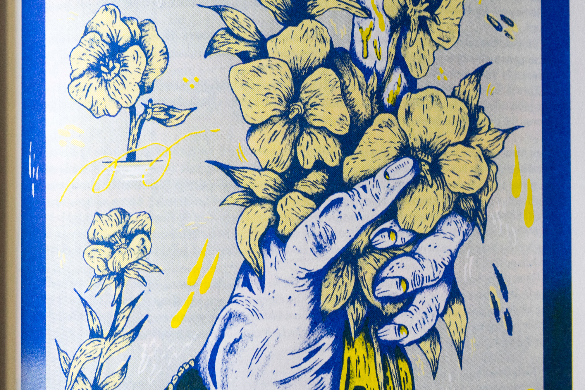 Detail of illustration by Bobbi Oskam