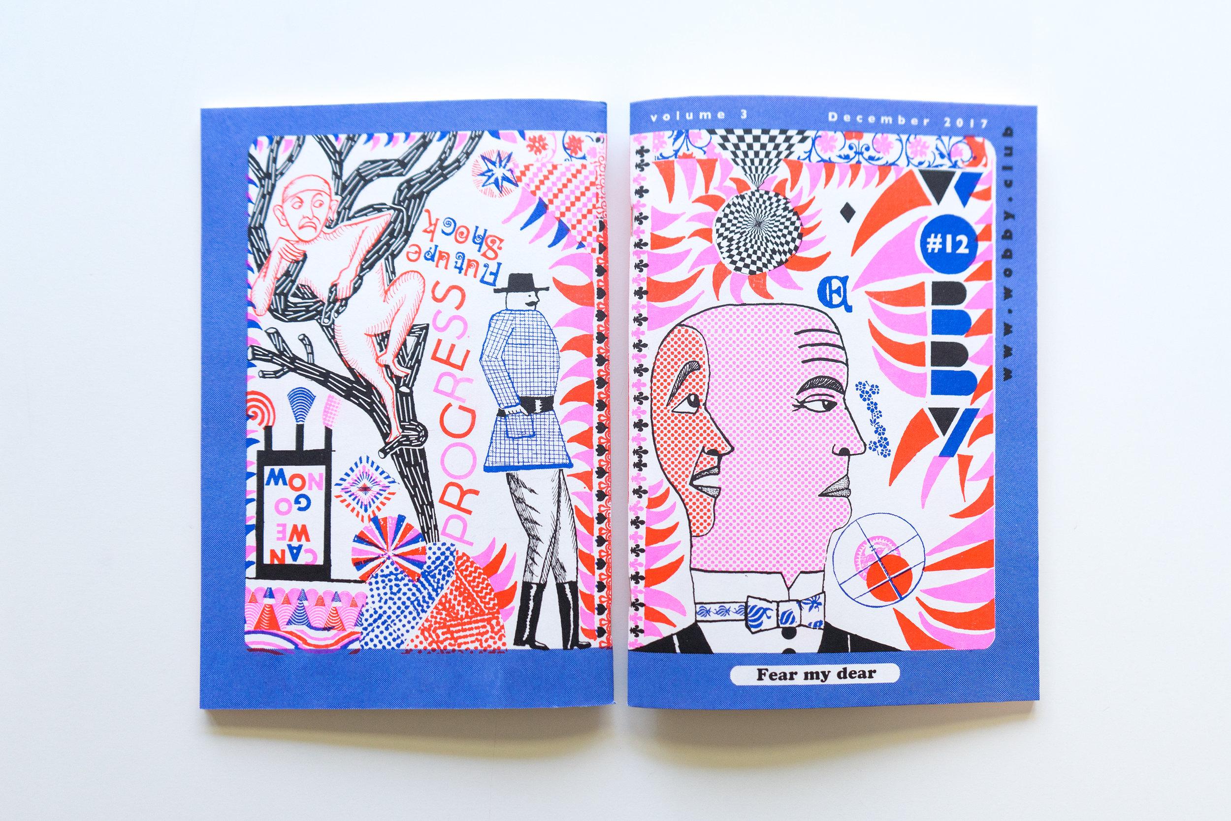 Wobby #12 - cover: John Broadley