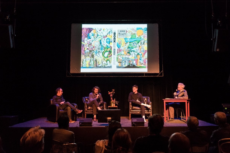 Michiel van de Pol, Lukas Verstraete, Bobbi Oskam and Joost Pollmann. Photo: Willam van der Voort