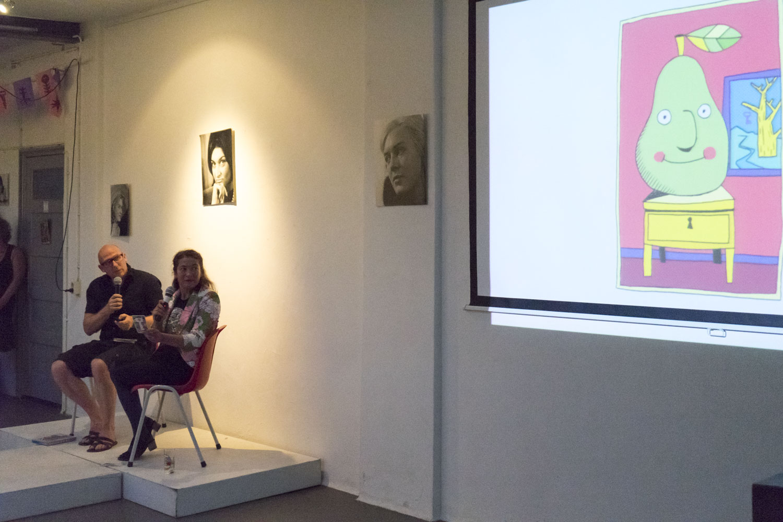 Kenjezelf Kit talk with artist Danielle Lemaire